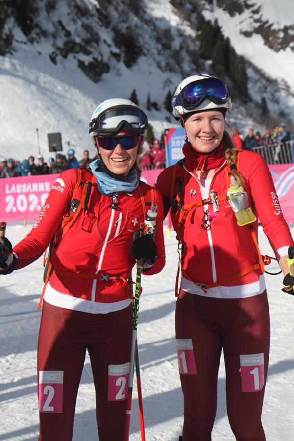 Médaille d'or et d'argent pour les deux Suissesses