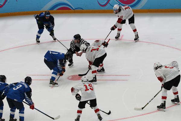 La Suisse au hockey sur glace